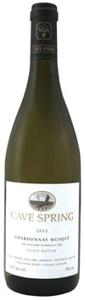 Cave Spring Chardonnay Musqué 2006, Beamsville Bench, Niagara Bottle