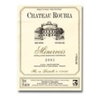 Chateau Roubia Minervois 2005 Bottle