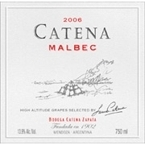 Cateña Malbec 2006 Bottle