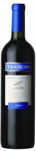 Trapiche Syrah 2007, Mendoza Bottle