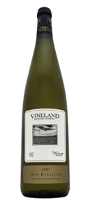 Vineland Estates Dry Riesling 2007, Niagara Peninsula Bottle