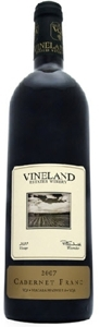 Vineland Estates Cabernet Franc 2007, Niagara Peninsula Bottle