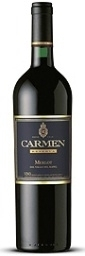 Carmen Merlot 2006, Central Valley Bottle