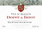 Dopff & Irion Gewurztraminer 2006, Alsace Bottle