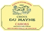 Croix Du Mayne 2004, Cahors, Southwest France Bottle