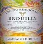 Dubeouf Brouilly 2007, Beaujolais, Burgundy Bottle