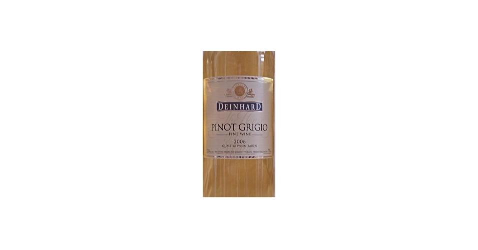 Deinhard pinot grigio 2007 expert wine ratings and wine for Deinhard wine