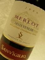 Cesari Merlot 2007, Venetia Bottle