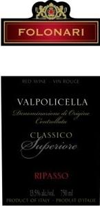 Folonari Valpolicella Ripasso 2006, Venetia Bottle
