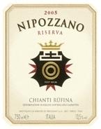 Frescobaldi Nipozzano Chianti Rùfina Riserva 2005, Tuscany Bottle