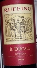 Ruffino Il Ducale 2005, Tuscany Bottle
