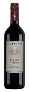 Ruffino Fonte Al Sole 2006, Tuscany Bottle