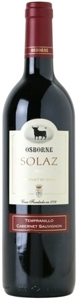 Solaz Merlot Tempranillo 2005, Tierra De Castilla Bottle