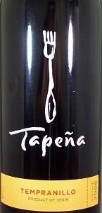 Tapeña Tempranillo 2006, Tierra De Castilla Bottle