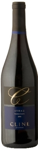 Cline Syrah 2006, Sonoma County, California Bottle