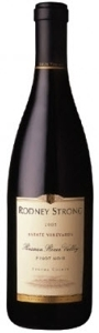 Rodney Strong Pinot Noir 2006, Russian River Valley, Sonoma Bottle