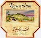 Rosenblum Zinfandel 2006, California Bottle