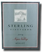 Sterling Merlot 2004, Napa Valley, California Bottle