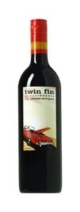 Twin Fin Shiraz 2005, California Bottle