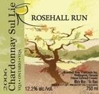Rosehall Run Chardonnay Sur Lie 2007, Prince Edward County Bottle