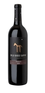 Wild Horse Canyon Shiraz 2007, West Coast Appellation Bottle