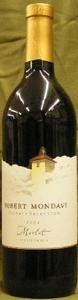 Robert Mondavi Private Selection Merlot 2006, California Bottle