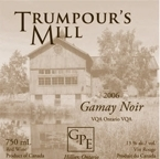 Trumpour's Mill Gamay 2006, Ontario Bottle