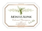 Montes Alpha Cabernet Sauvignon 2006, Colchagua Valley Bottle