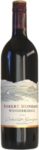 Robert Mondavi Woodbridge Cabernet Sauvignon 2006, California Bottle