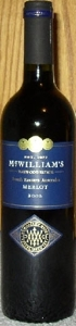 Mcwilliams Hanwood Merlot 2007, South Eastern Australia  Bottle