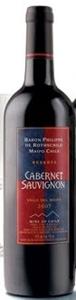 Baron Philippe De Rothschild Reserva Cabernet Sauvignon 2007, Maipo Valley Bottle