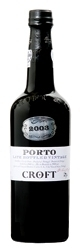Croft Late Bottled Vintage Port 2003, Btld. 2008 Bottle