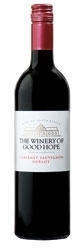 The Winery Of Good Hope Cabernet Sauvignon/Merlot 2007, Wo Stellenbosch Bottle