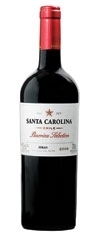 Santa Carolina Barrica Selection Syrah 2006, Maipo Valley Bottle