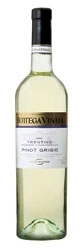 Bottega Vinaia Pinot Grigio 2007, Doc Trentino, Estate Btld Bottle