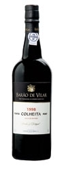 Barão De Vilar Colheita Port 1998, Btld. 2008, Aged In Wood Bottle