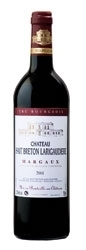 Château Haut Breton Larigaudière 2001, Ac Margaux Bottle