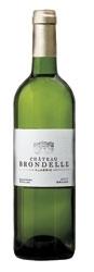 Château Brondelle Blanc 2007, Ac Graves, Sauvignon/Sémillon Bottle