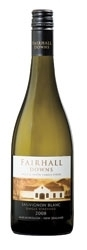 Fairhall Downs Single Vineyard Sauvignon Blanc 2008, Marlborough, South Island Bottle