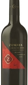 Zumaya Tempranillo Crianza 2005, Do Ribera Del Duero Bottle