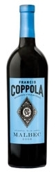 Francis Coppola Diamond Collection Celestial Blue Label Malbec 2006, California Bottle