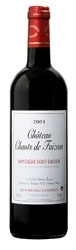 Château Chants De Faizeau 2004, Ac Montagne Saint émilion Bottle