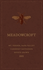 Meadowcroft Cabernet Sauvignon 2005, Mount Veeder, Napa Valley, Estate Grown Bottle