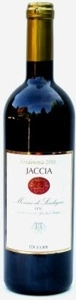 Jaccia Monica Di Sardegna 2006, Doc, Made With Organic Grapes Bottle