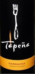 Tapena Garnacha 2007, La Tierra De Castilla Bottle