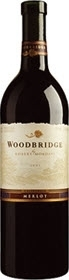 Woodbridge Merlot 2007, Robert Mondavi Bottle