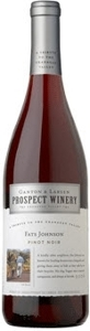 Ganton & Larsen Prospect Winery Fats Johnson Pinot Noir 2006, Okanagan Valley Bottle