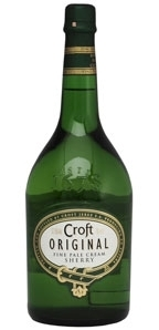 Croft Original Fine Pale Cream Sherry Bottle