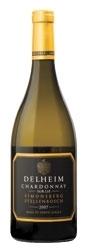 Delheim Sur Lie Chardonnay 2007, Wo Simonsberg Stellenbosch Bottle