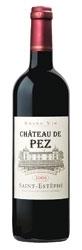 Château De Pez 2006, Ac St Estèphe Bottle